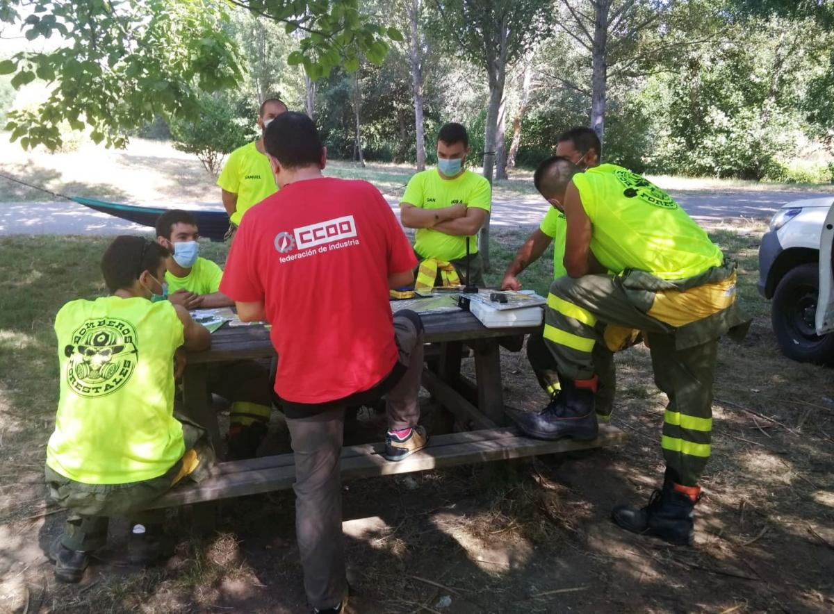 Vista CCOO Industria Trabajadores-as Sector FORESTAL Zamora