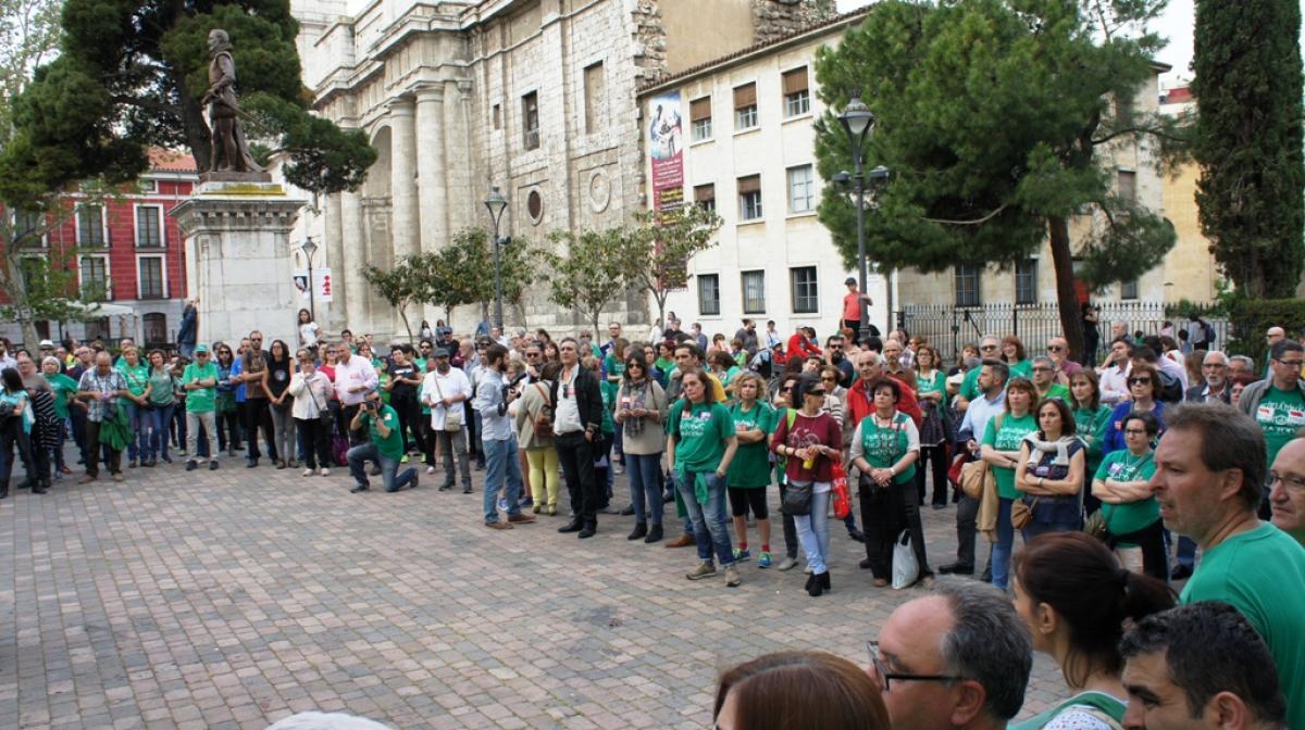 Movilización por la Escuela Pública en Valladolid